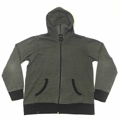 Amplify Young Men/'s Zip Hoodie Jacket Teal /& Grey ped $40 Retail