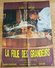 Affiche de cinéma : LA FOLIE DES GRANDEURS de Gérard OURY