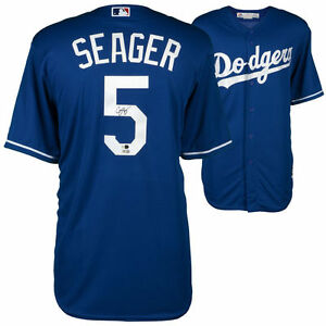 Image is loading COREY-SEAGER-Autographed-Los-Angeles-Dodgers-Away-Jersey- 1d8d92b05
