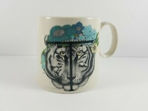 Anthropologie-Drawing-By-Florence-Balducci-Letter-T-Tiger-Coffee-Mug