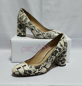 COACH Black and White Pumps Heels Size 5.5