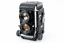 Mamiya C330 Medium Format camera exc 105mm f/3.5 DS bule dot  from japan 183717