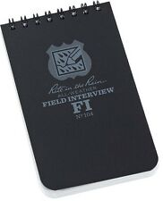 "Rite in the Rain RITR104 Police Field Interview Notepad 3""x5"""