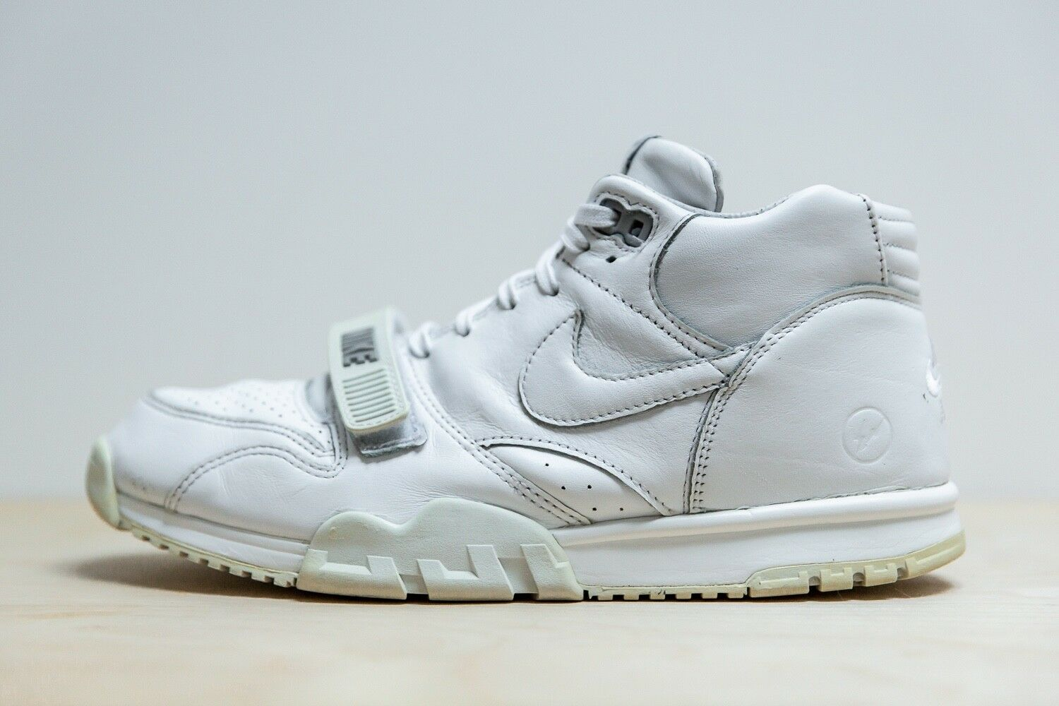 Nike x Fragment - Air Trainer 1 - White - Size 11 - Pre-Owned  7 10 - 806942-110