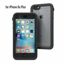Waterproof Protector Case Shock Proof for iPhone 6s Plus Black and Space Grey