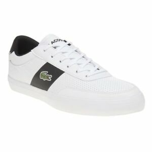 93c2742c3 New MENS LACOSTE WHITE COURT MASTER 119 2 CMA LEATHER Sneakers Court ...