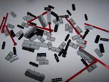 LEGO® STAR WARS minifigure SPECIALTY brick lot missle connector blaster gun grey