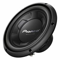 Pioneer 1100 Watt 10 Subwoofer 4ohm Single Voice Coil