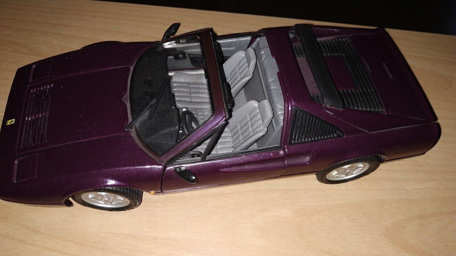 Modello di auto 1:18 BURAGO FERRARI Anson 328 GTS