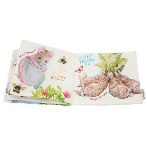 Easter Gift Baby Kids Peter Rabbit Educational Soft Cloth Story Book Toy shan
