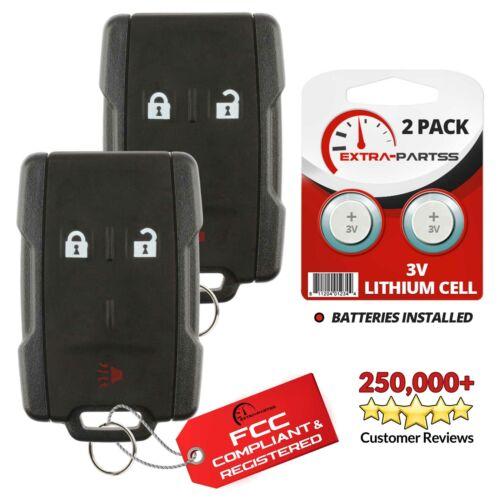 2 For 2007 2008 2009 Chevrolet Silverado 1500 2500 3500 Keyless Remote Key Fob