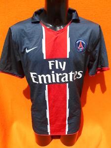 reputable site 56b02 a09b6 Detalles de PSG Jersey Maillot Camiseta 2010 2011 Nike Home Paris St  Germain Ibrahimovic Era