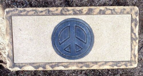 "Peace sign bench top mold 3//16th/"" abs plastic peace symbol mould"