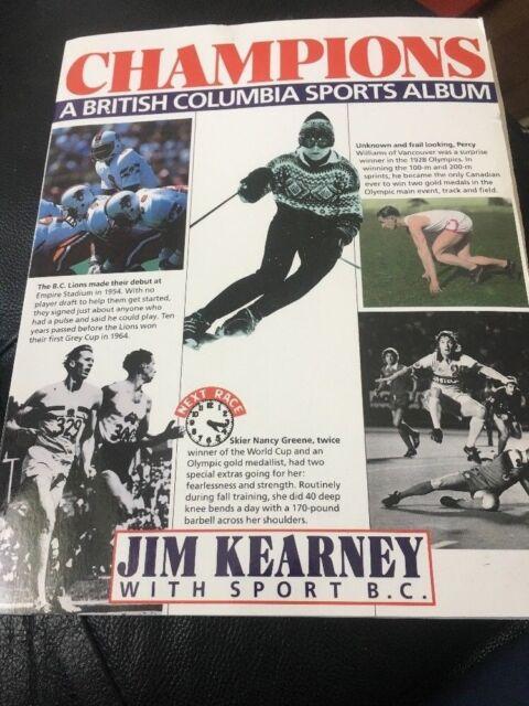 Champions: A British Columbia sports album Paperback – 1985  by Jim Kearney