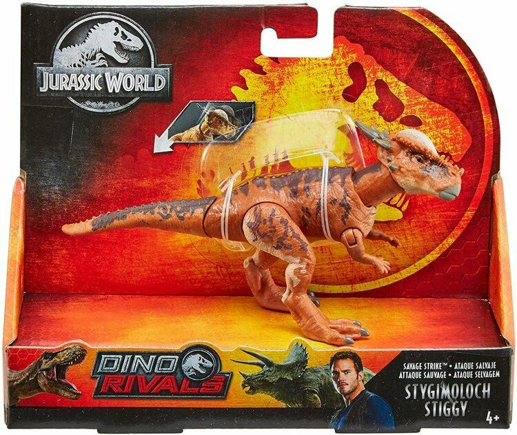 Jurassic World Dino Rivals Savage Strike Stygimoloch Stiggy NEW