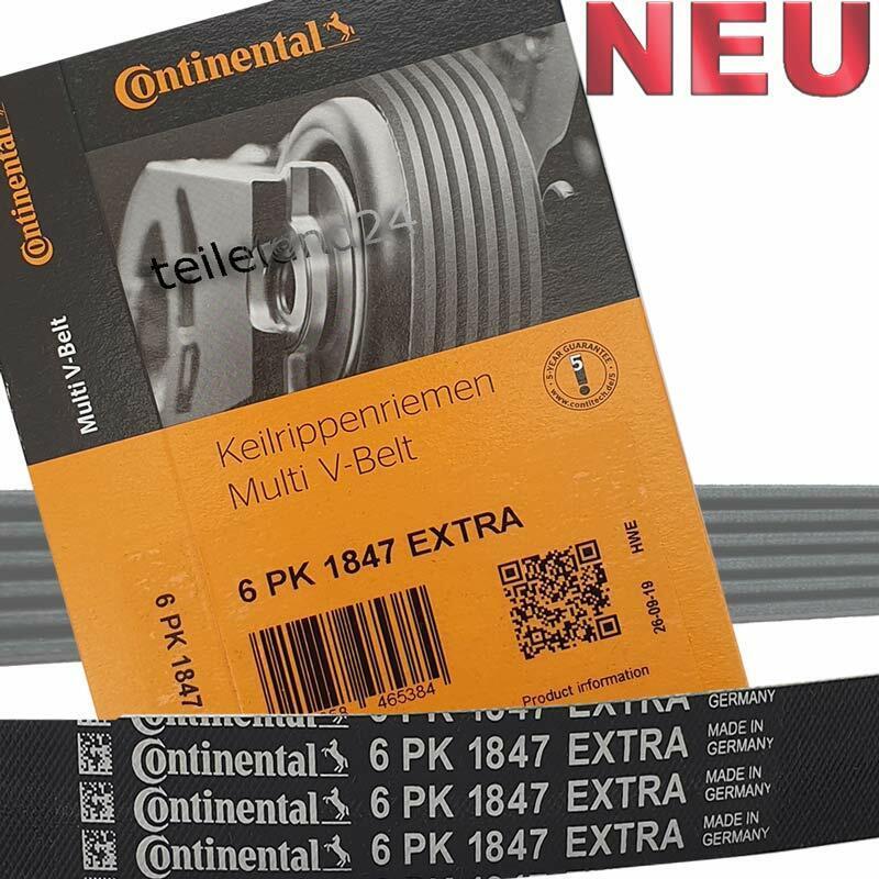 Keilrippenriemen CONTINENTAL CTAM 6PK1847EXTRA für FORD OPEL GENERAL MOTORS