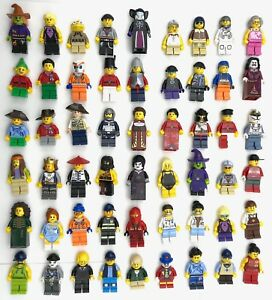LEGO-NEW-MINIFIGS-TOWN-CITY-SERIES-CHRISTMAS-PIRATE-CASTLE-MORE-YOU-PICK
