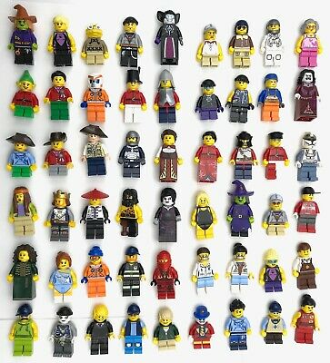 LEGO NEW MINIFIGS TOWN CITY SERIES CHRISTMAS STAR WARS CASTLE MORE YOU PICK!!
