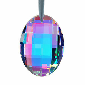 Colorful-Hanging-Egg-Shape-Pendants-Crystals-Chandelier-Lamp-Prisms-Parts-76mm