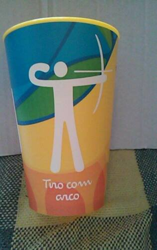 Bierbecher # Olympia Olympics 2016 Rio # Bogenschießen Archery