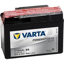 VARTA MOTORRAD-BATTERIE POWERSPORTS AGM YTR4A-BS YTR4A-BS 12Volt 2,3Ah 30A