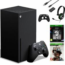 Xbox Series X Console + FIFA 21 + Black Ops Cold War + Revent Starter Pack - NEW
