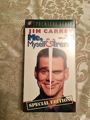Vhs Jim Carrey 2002 Me Myself And Irene New Ebay
