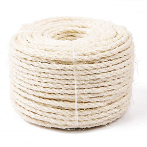 Replacement-Sisal-Rope-for-CAT-SCRATCHING-POST-Claw-Care-Toy-Repair-Pet-Cord-Fix