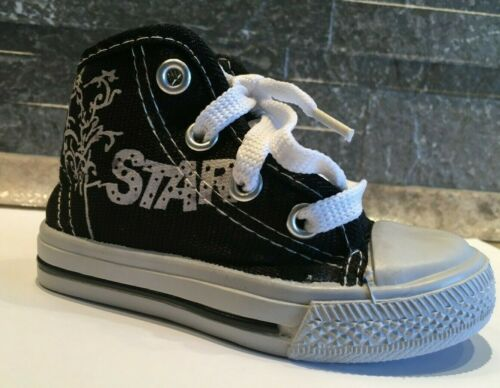 Trendy Kinder Sneaker Knöchelschuhe Schuh Sportschuhe Star  Gr.23