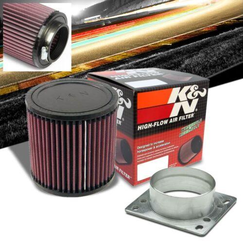 """3/"""" MAF Mass Air Sensor Adapter+K/&N Intake Filter For Probe//RX7//Miata//MX3//MPV"""