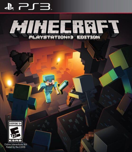 Minecraft: PlayStation 3 Edition [Playstation 3 PS3 Sandbox World Building] NEW