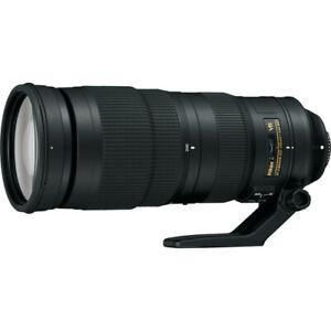 Nikon AF-S NIKKOR 200-500 mm f/5.6 ED IF M/A SIC SWM VR Lens - Black - 20058