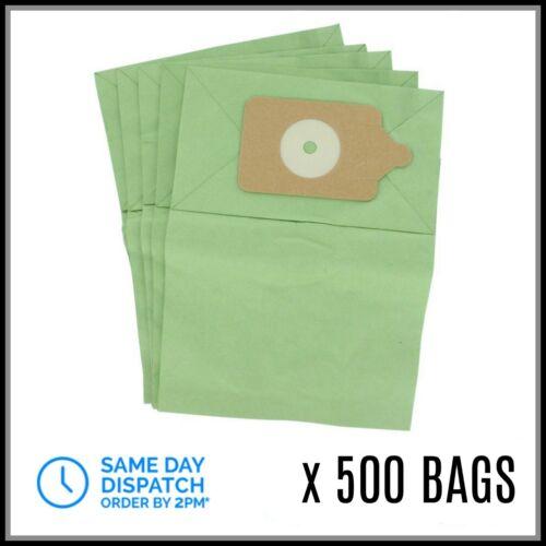 500 x sacchetti di carta per Numatic Henry Hetty James Rucksack per aspirapolvere BULK