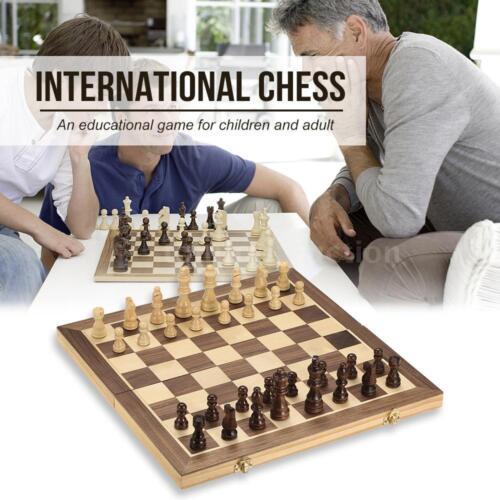 40cm*40cm Folding Board Educational Wooden Chess Set International Chess V5H5
