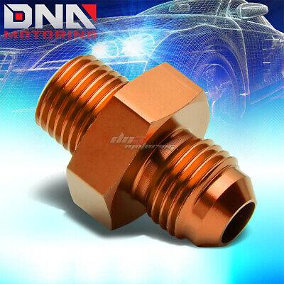 AN4 AN-4 To AN3 AN-3 Straight Reducer Adapter Fitting Aluminum Blue