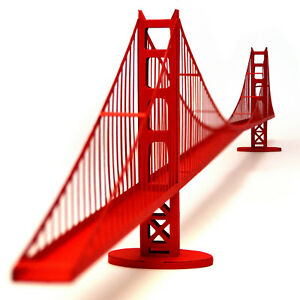 PaperLandmarks-GOLDEN-GATE-BRIDGE-Paper-Model-Kit
