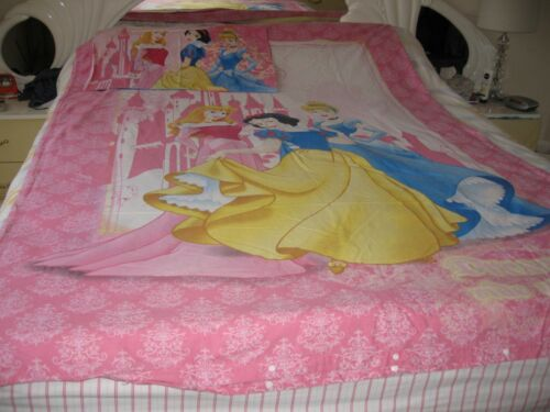 Disney Princess Quilt Cover & ow Case SetPre Owned Good condition