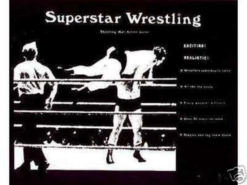The Original Superstar Wrestling Game Deluxe w  2000s Card Sets Sale