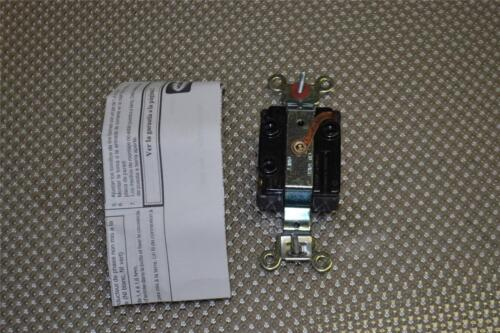 ONE NEW HUBBELL 7582G SINGLE RECEPTACLE HBL7582G 10A//250V
