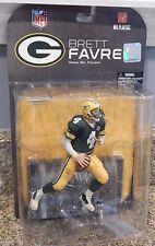 NEW 2008 McFarlane NFL Brett Favre #4 Green Bay Packers Figure