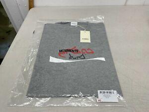 Vetements Big Cocaine T-Shirt - Grey - XL