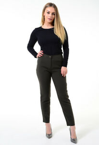 0ee35f34c5a9 Tesco F&F Womens Pants Smart Office Casual Ladies Work Trousers ...