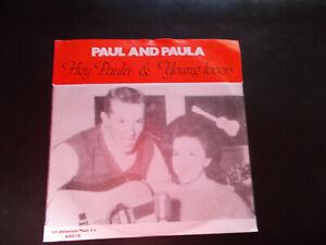 Pop-Single 1963 / Paul And Paula / Hey Paula / Ri-Press 1985 / Neuwertig / 45019 - Köln, Deutschland - Pop-Single 1963 / Paul And Paula / Hey Paula / Ri-Press 1985 / Neuwertig / 45019 - Köln, Deutschland