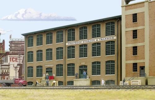 hintergrundgebä-NUOVO Walthers 533189-1//87//h0 magazzino edificio