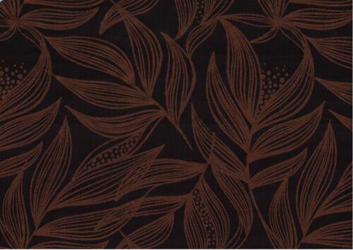 Sweat modalsweat copper lillestoff negro marrón