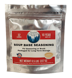 Build-A-Kit - Soup Base Seasoning Component - Emergency Food Supply Rations MRE