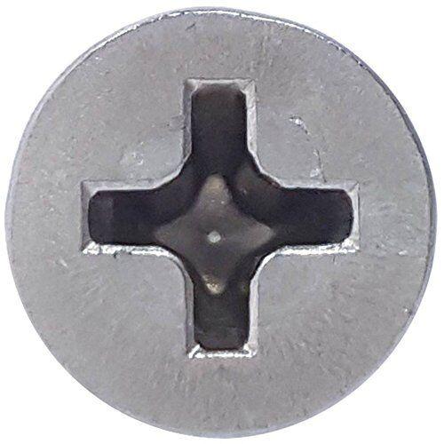 "#10 x 3/"" Phillips Flat Head Wood Screws 316 Marine Stainless Steel Qty 25"