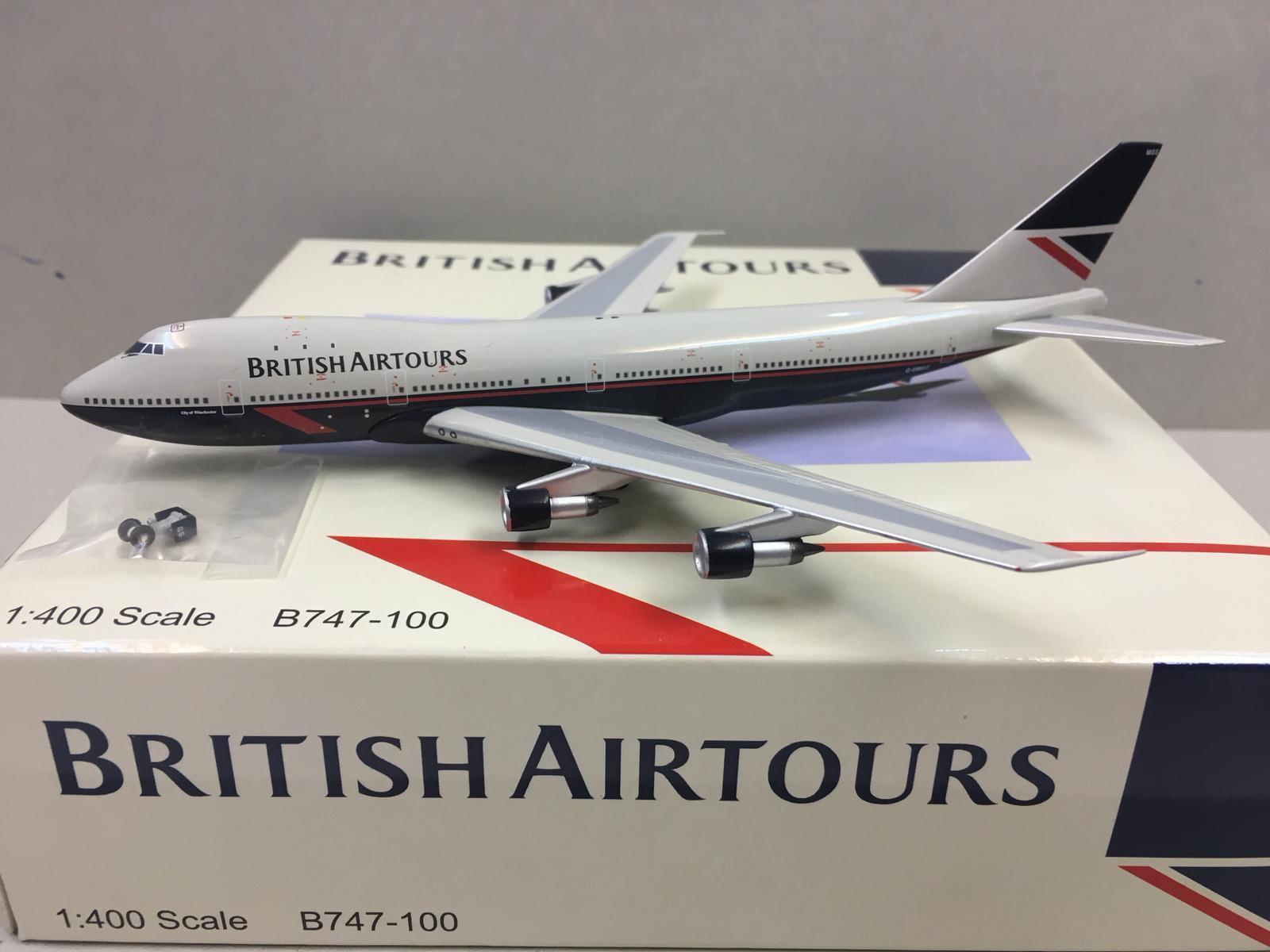 Aeroclassics 1:400 British Airtours BOEING B747-100 G-BMGS