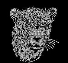 Leopard Rhinestone Iron on Transfer         ENDQ