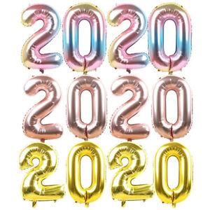 de-Noel-Chiffres-pour-2020-Helium-ballon-Digital-ballon-Feuille-d-039-aluminium